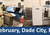 Florida CNC machine shop auction